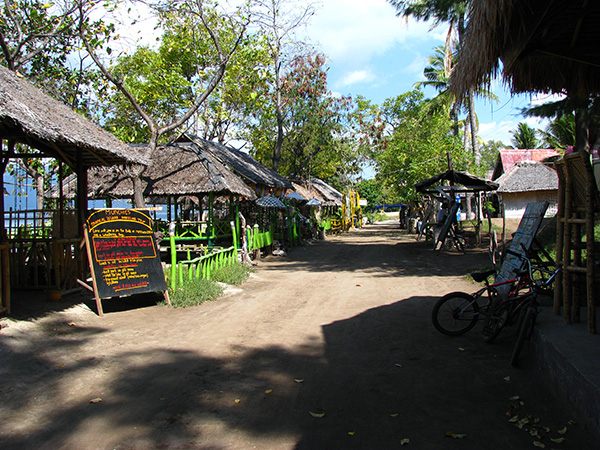 gili air street