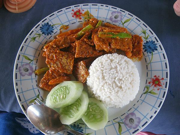 spicy tempe sasak