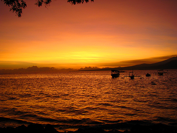 gili air sunrise