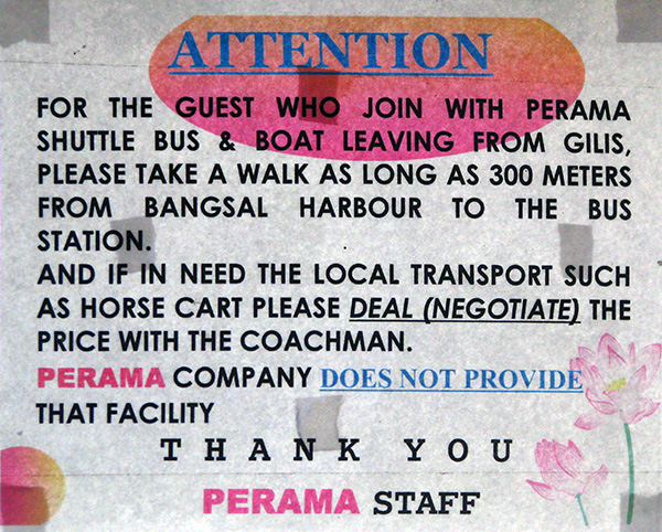 perama boat sign