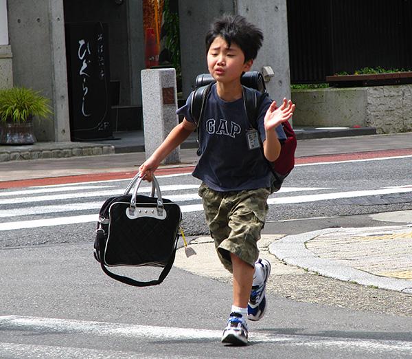 japanese schoolboy