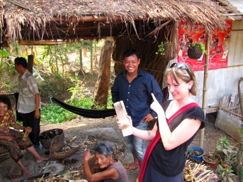 Bamboo sticky rice - Battambang, Cambodia