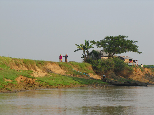 Battambang River, Cambodia