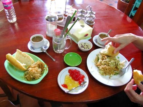 Breakfast - Phnom Penh, Cambodia