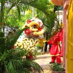 Chinese New Year celebration, Phnom Penh, Cambodia