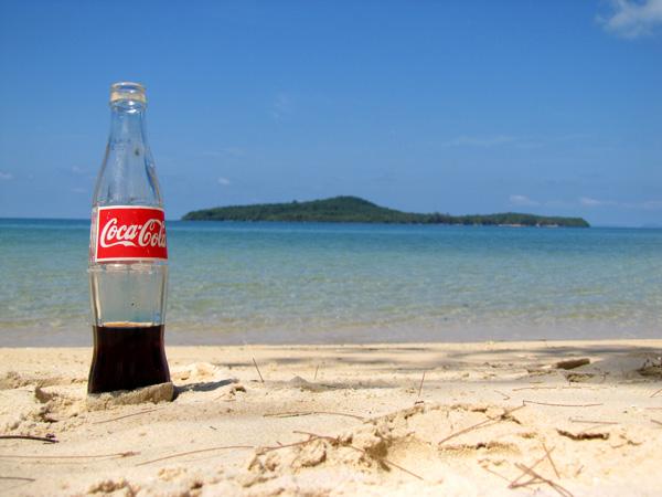 Coke - Koh Ta Kiev, Sihanoukville, Cambodia