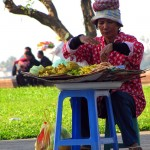 Fruit seller - Phnom Penh, Cambodia