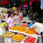 Fruit stall in the market - Phnom Penh, Cambodia