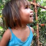 Girl smiling - Battambang, Cambodia