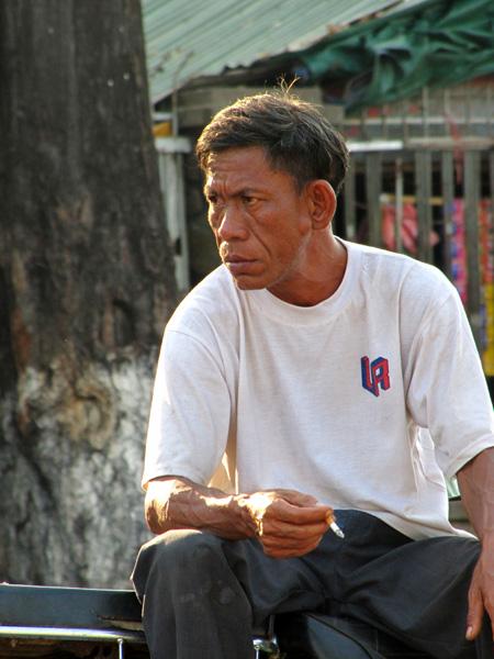 Man - Phnom Penh, Cambodia