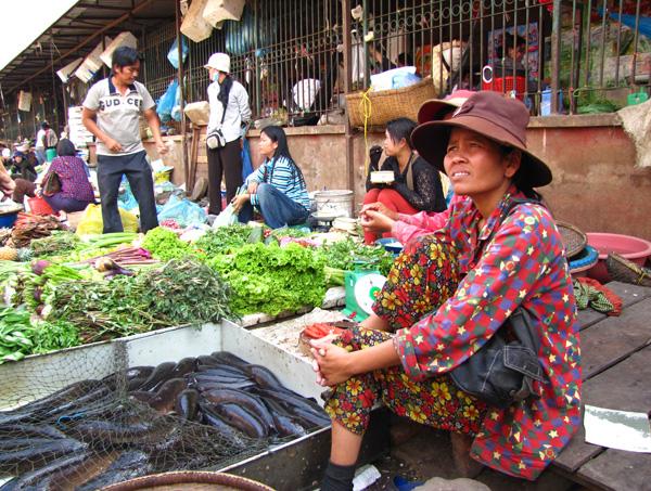 Market - Battambang, Cambodia