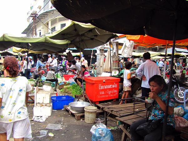 Market - Phnom Penh, Cambodia