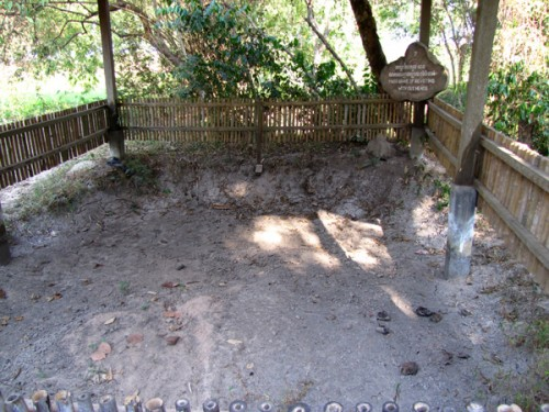 Mass grave - Killing Fields, Phnom Penh