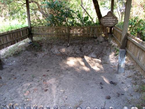 Mass grave - Killing Fields, Phnom Penh