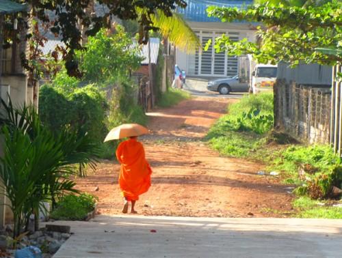 Monk - Sihanoukville, Cambodia