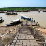 Siem Reap docks, Cambodia