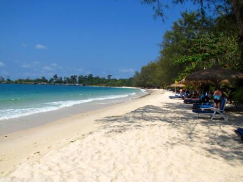 Sokha Resort Beach, Sihanoukville, Cambodia