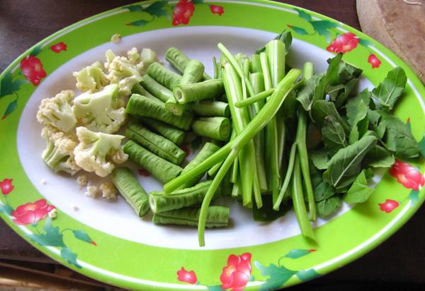 Lok Lok vegetables