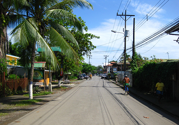 Street - Puerto Viejo, Costa Rica