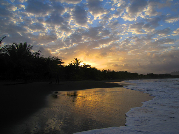 Sunset - Playa Negra, Costa Rica