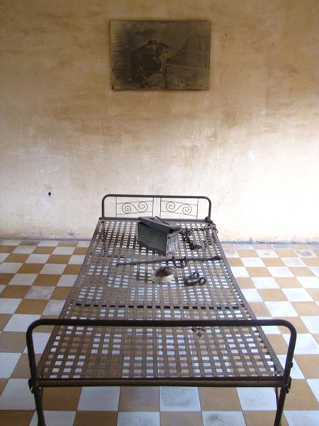Torture room - Tuol Sleng, Phnom Penh