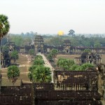 View from Angkor Wat, Cambodia