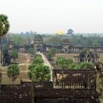View from Angkor Wat, Cambodia