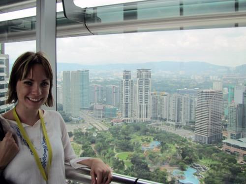 Petronas Twin Towers Skybridge, Kuala Lumpur, Malaysia