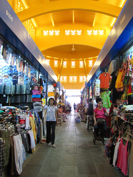 Clothes - Central Market, Phnom Penh, Cambodia