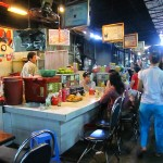 Food stalls - Russian Market, Phnom Penh, Cambodia