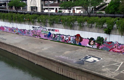 Graffiti - Kuala Lumpur, Malaysia