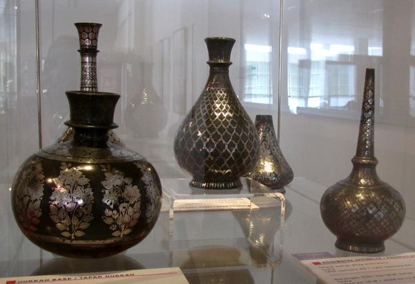 Hukkah Base, India, 19th century CE - Islamic Arts Museum, Kuala Lumpur, Malaysia