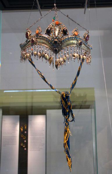 Bridal Crown, Uzbekistan, 18th century CE - Islamic Arts Museum, Kuala Lumpur, Malaysia