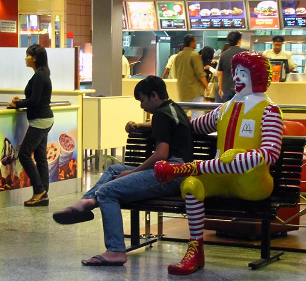 People in Kuala Lumpur International Airport
