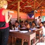 English School at Save Poor Children in Asia Organization (SCAO) - Phnom Penh, Cambodia