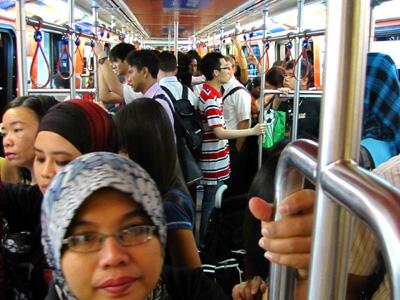 Train in Kuala Lumpur, Malaysia