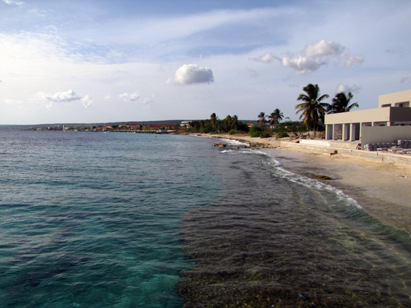 Bonaire shore