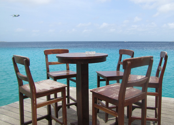Lunch on the pier - Kralendijk, Bonaire