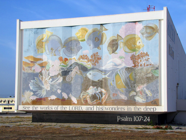 Trans World Radio mural - Bonaire