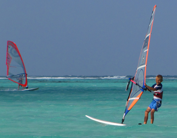 Windsurfing - Lac Bay, Bonaire
