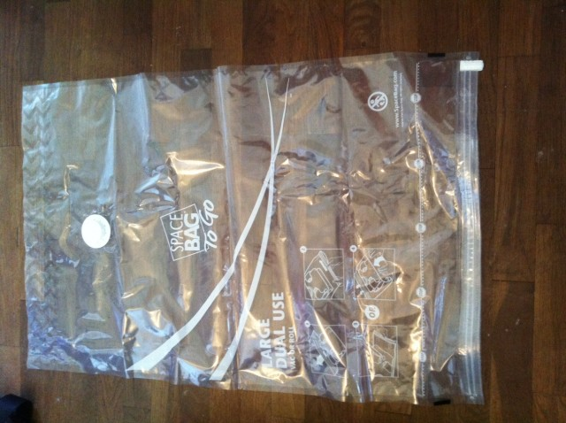Dual-Use Space Bag