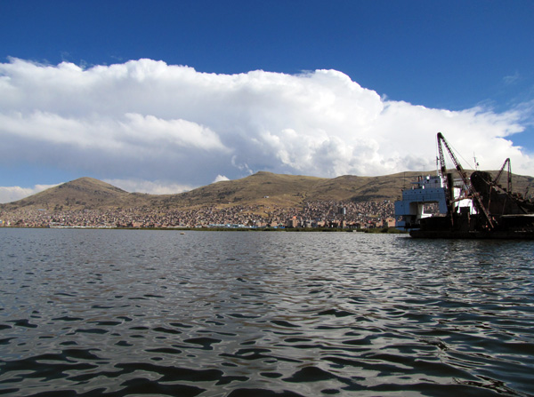 Puno Harbor Lake Titicaca