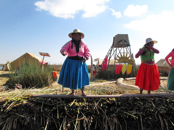 Uros Floating Islands Lake Titicaca